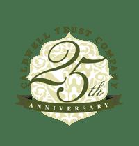 Caldwell Trust Company 25th Anniversary
