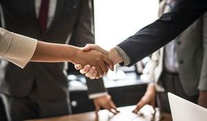 handshake between trusteest